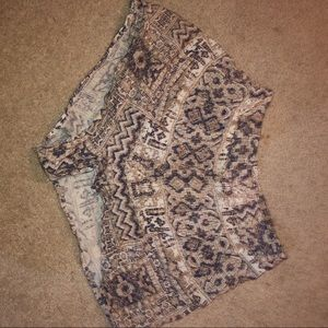 floral flowy shorts patterned